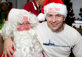 Santa Claus Visited the JOIDES Resolution