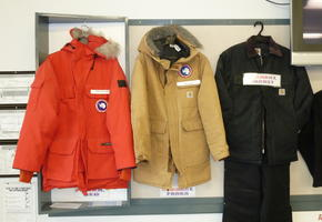 Three ECW Jackets for Antarctica