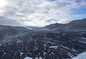 Foothills of Royal Society Range in the Transantarctic Mountains