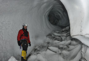 Wormtongue Hole Ice Cave