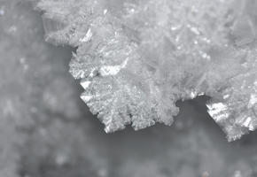 Hoarfrost in Kachina Cave