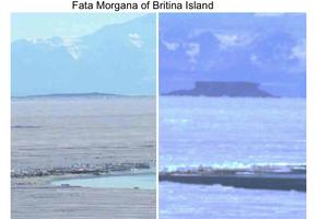 Fata Morgana at Britina Island