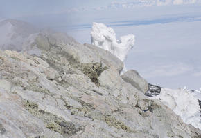 Hydrothermal Ice Towers and Mt Erebus